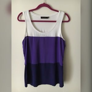 Color Block Top by The Limited